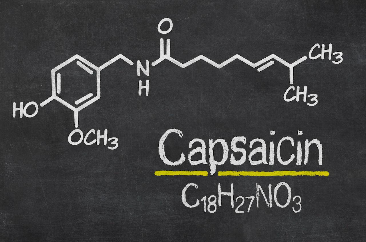 カプサイシン構造式